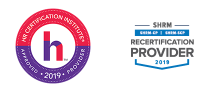 HRCI and SHRM Approved Seal