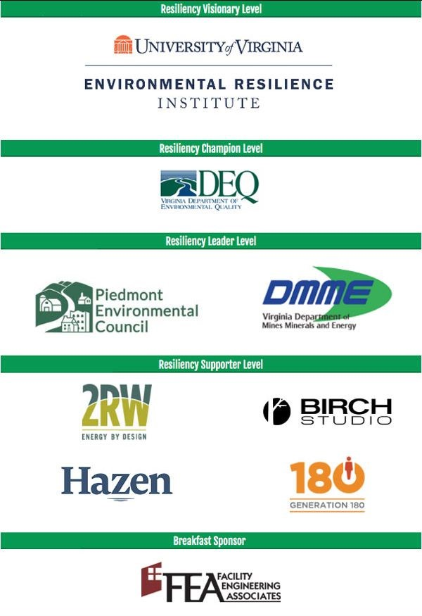 2019 Resilient Virginia Conference Sponsors