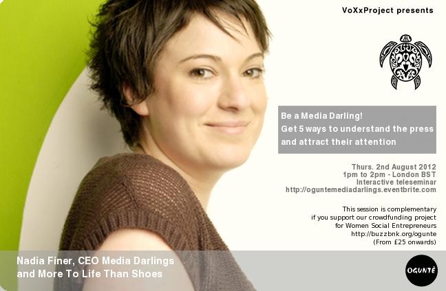 VoXxProject Speaker: Nadia Finer