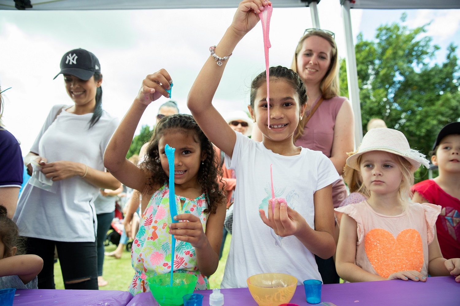Moreton Kids Festival slime making workshop