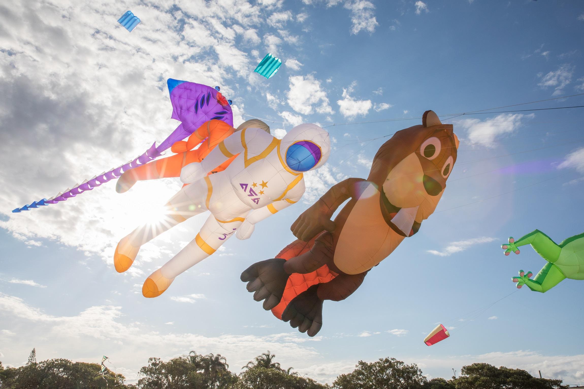Redcliffe KiteFest International Kite Displays