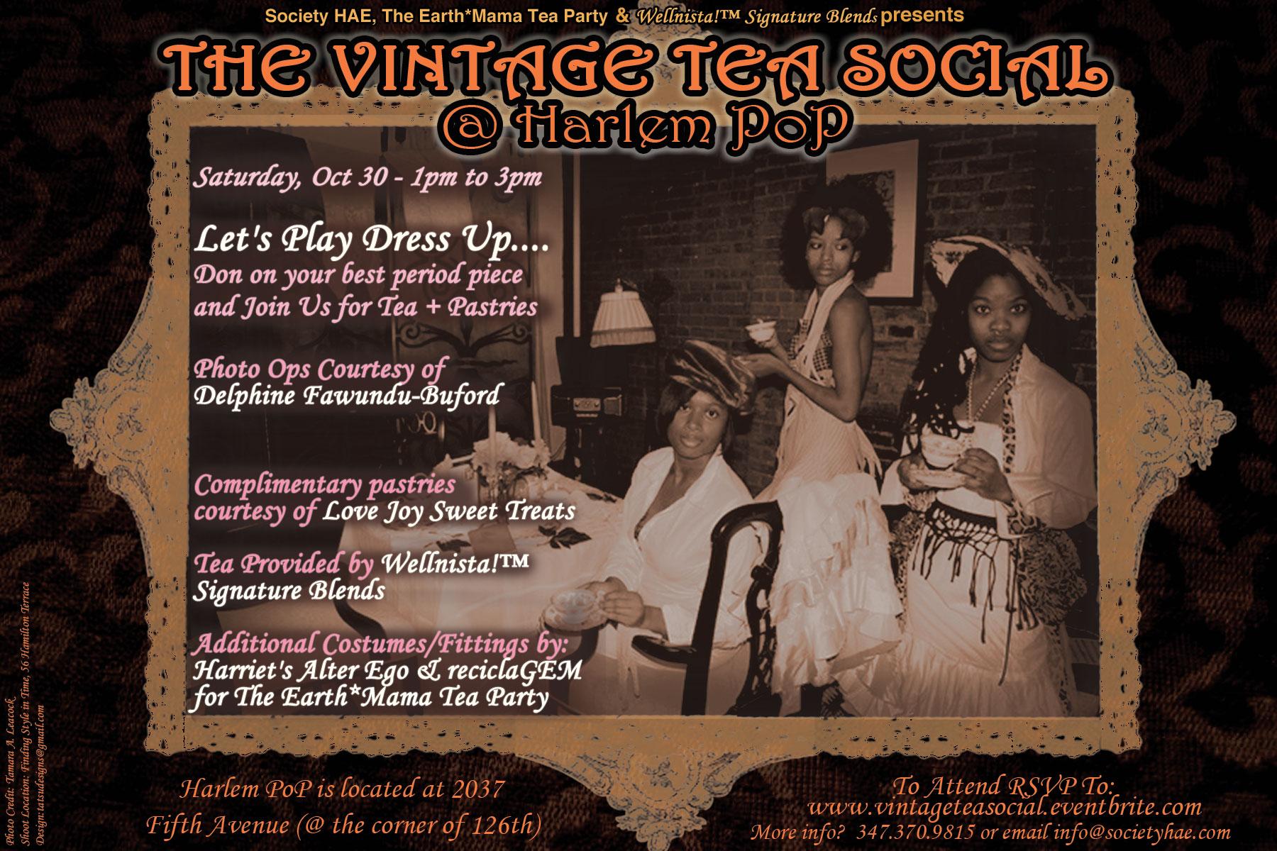 Vintage Tea Social