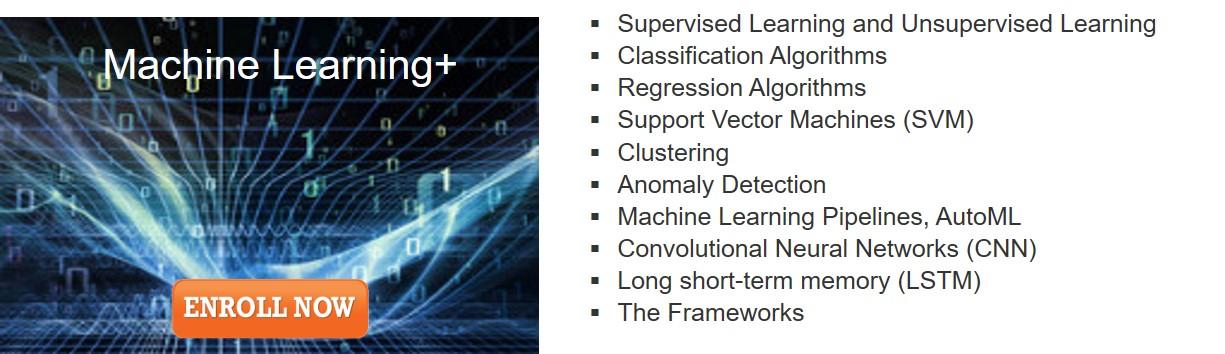 Machine Learning Plus Module