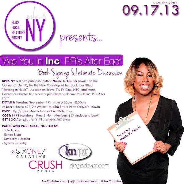 BPRS-NY Nicole Garner book signing