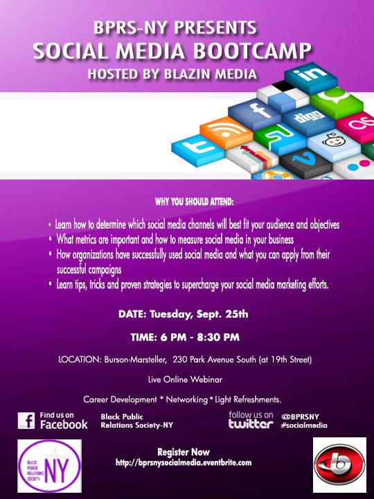 BPRS-NY Social Media Bootcamp