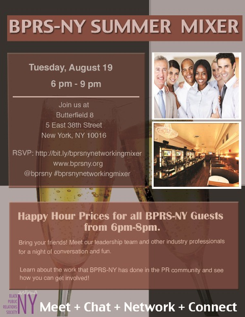 BPRS-NY Networking Mixer