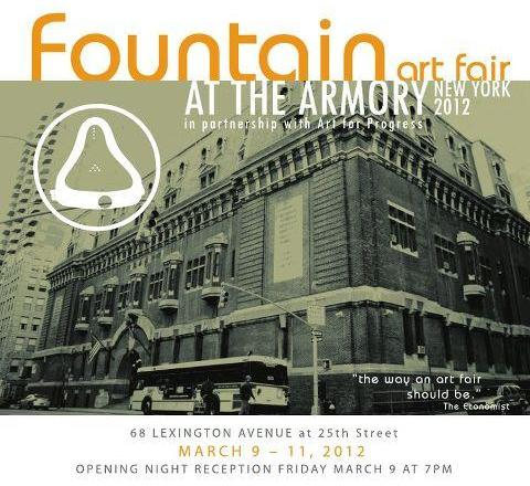 Fountain Art Fair at the 69th Regiment Armory
