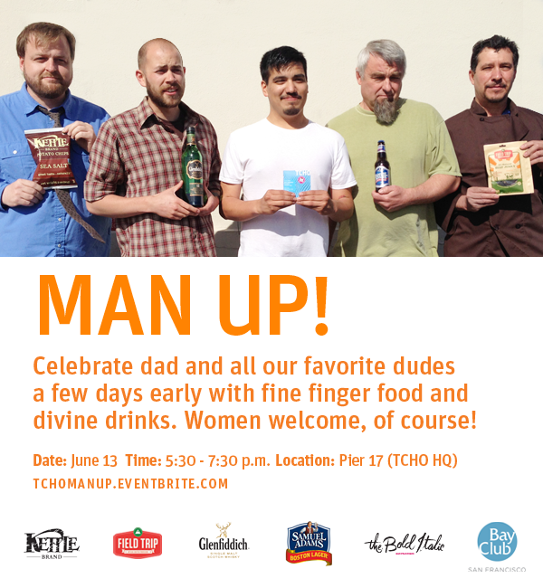 Man Up! Event Poster.