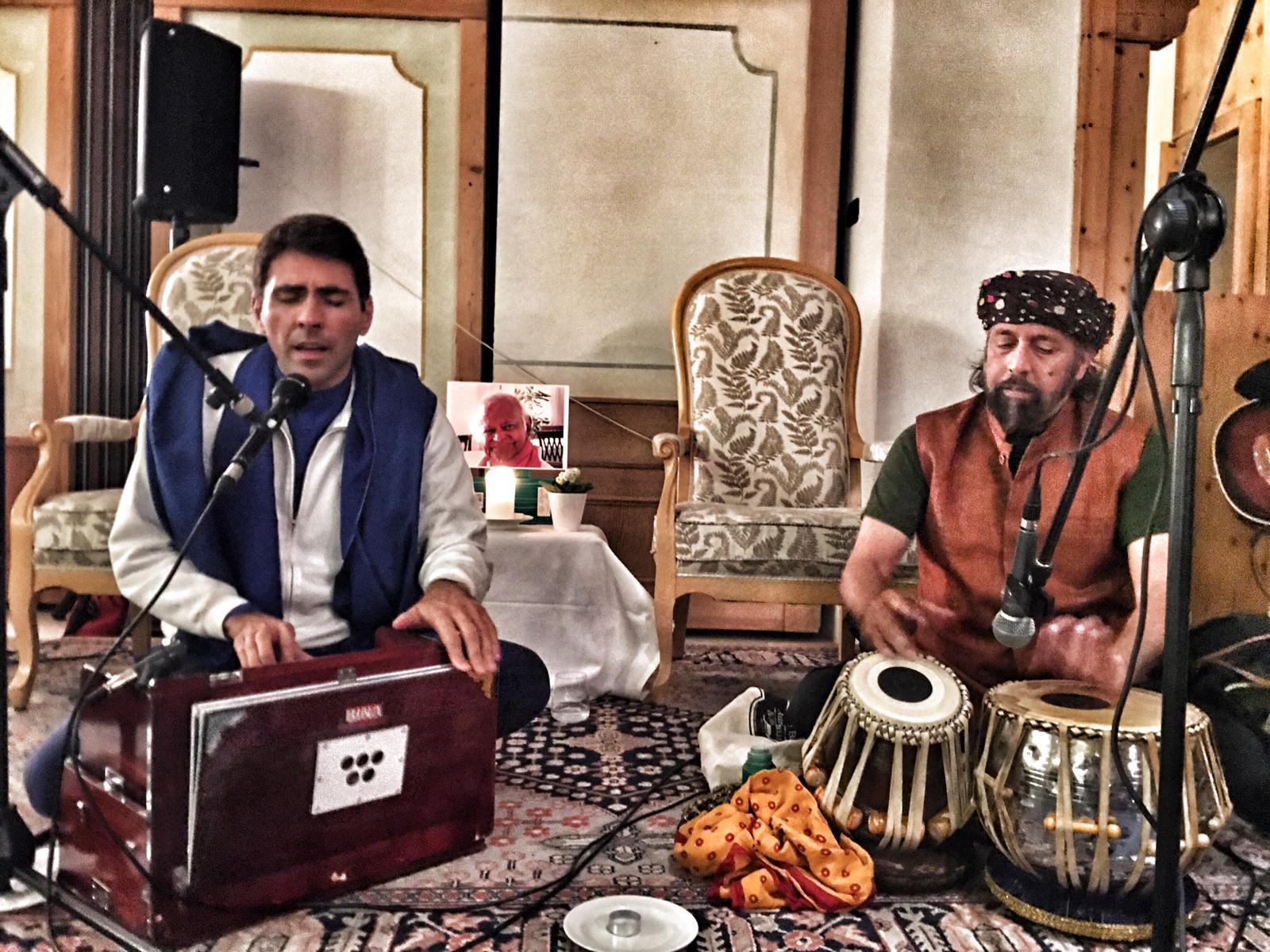 Daniel Lumera e Rashmi Bhatt