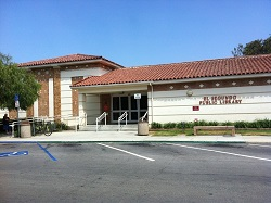 South Entrance to El Segundo Public Library