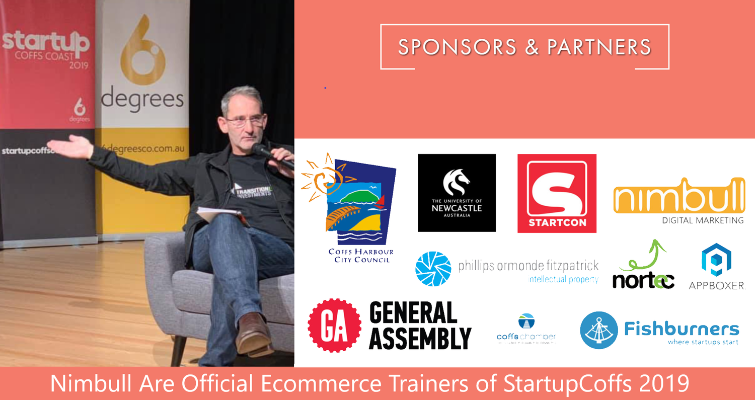 BREAKING NEWS! Shark Tank's Steve Baxter has opened StartUpCoffs. The NSW government has chosen Nimbull to be the official eCommerce trainers of the event.