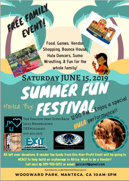 SUMMER FUN FLYER