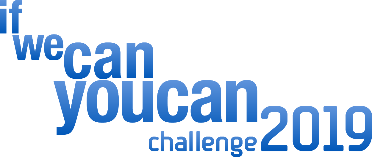 If We Can You Can Challenge 2019 logo