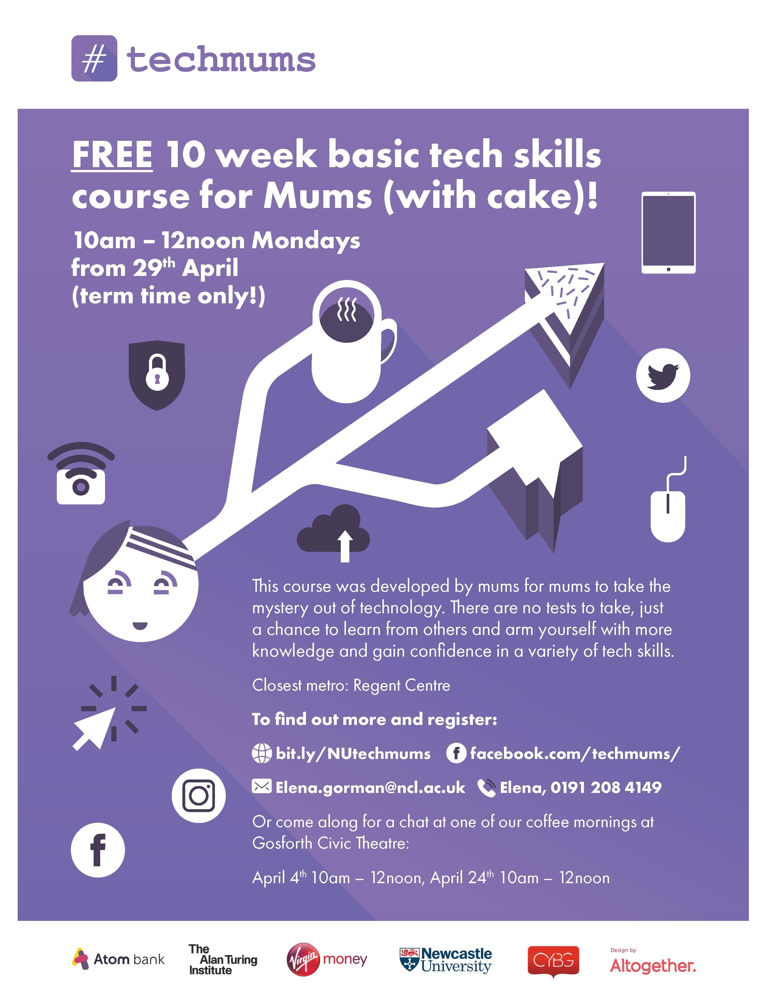 #techmums poster