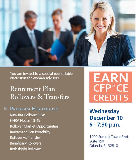 Retirement Plan Rollovers and Transfers