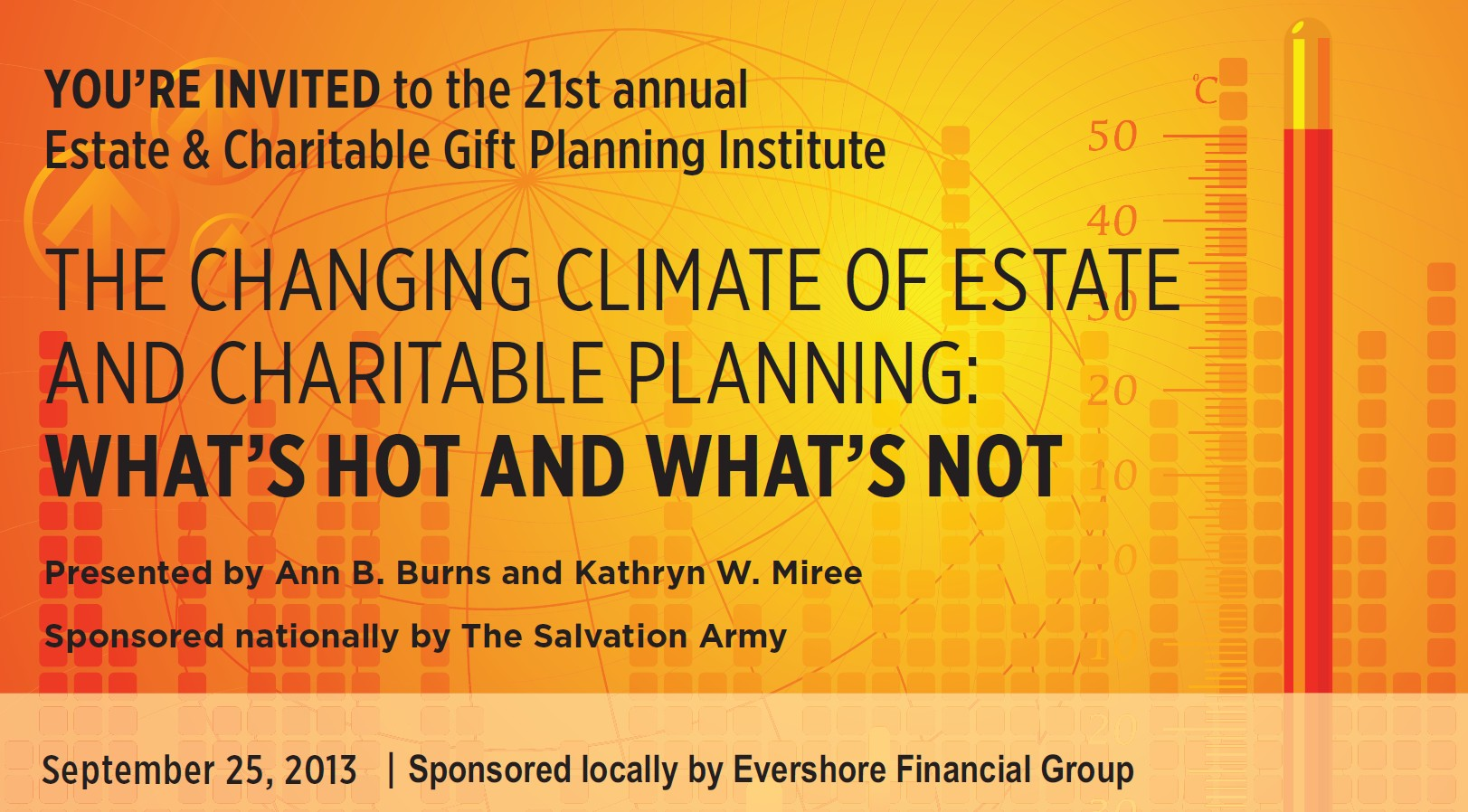 21st Annual Estate & Charitable Giving Event