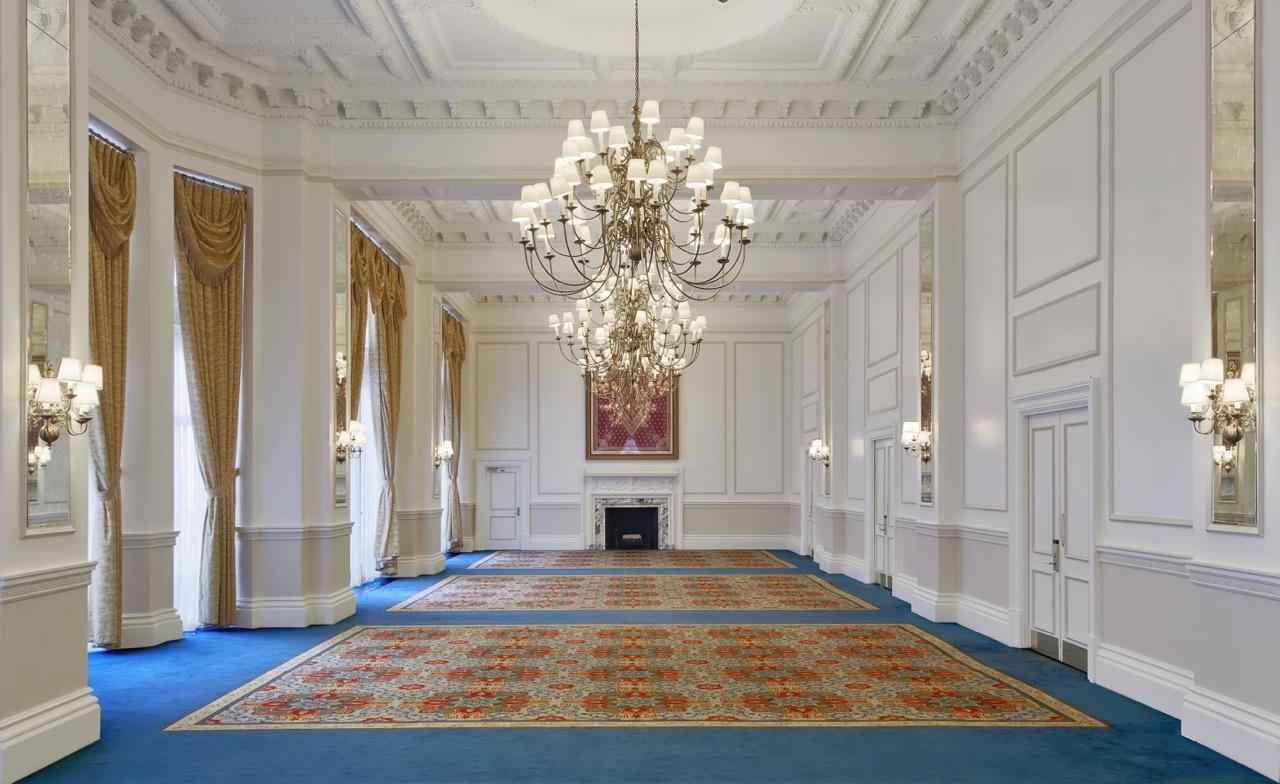 The decadent Empire Room at the Landmark