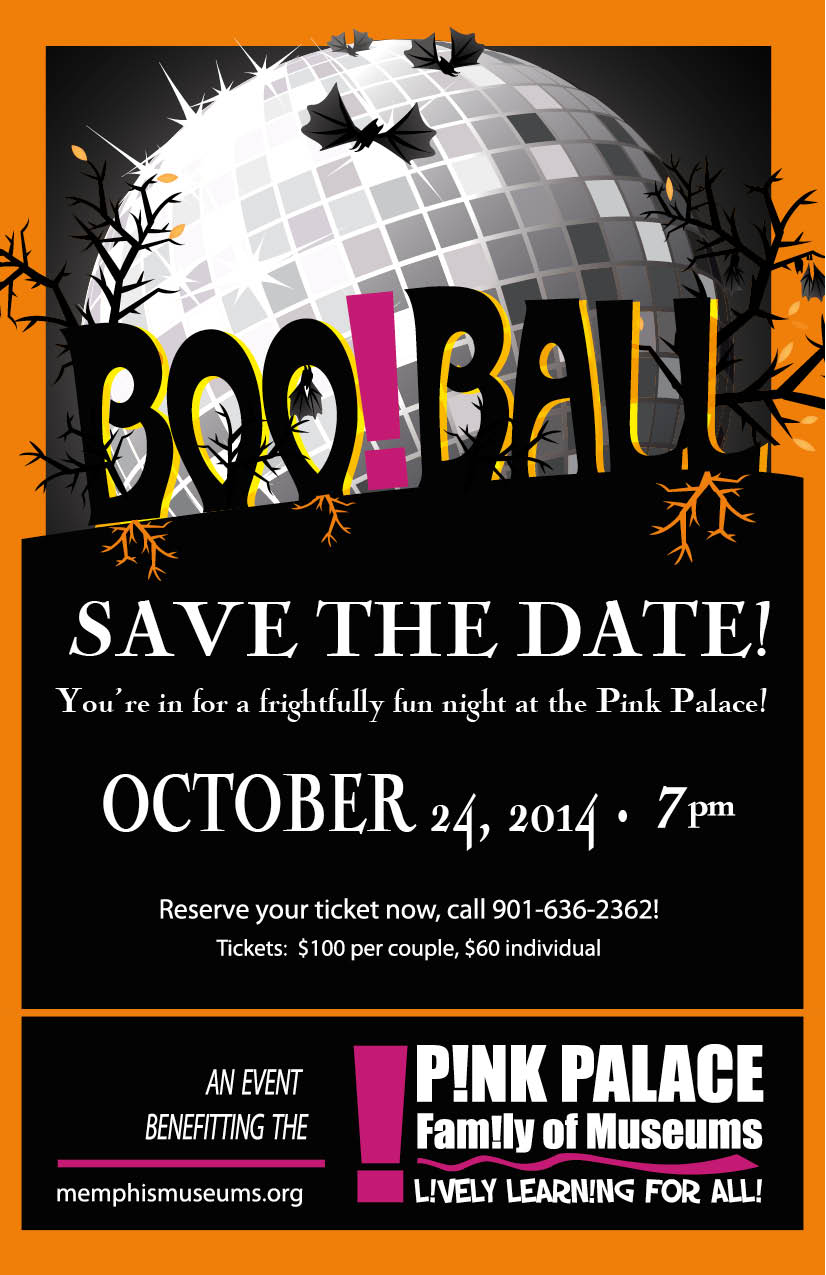 Boo Ball 2014 save the date