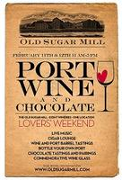 Port, Wine & Chocolate Lovers Weekend
