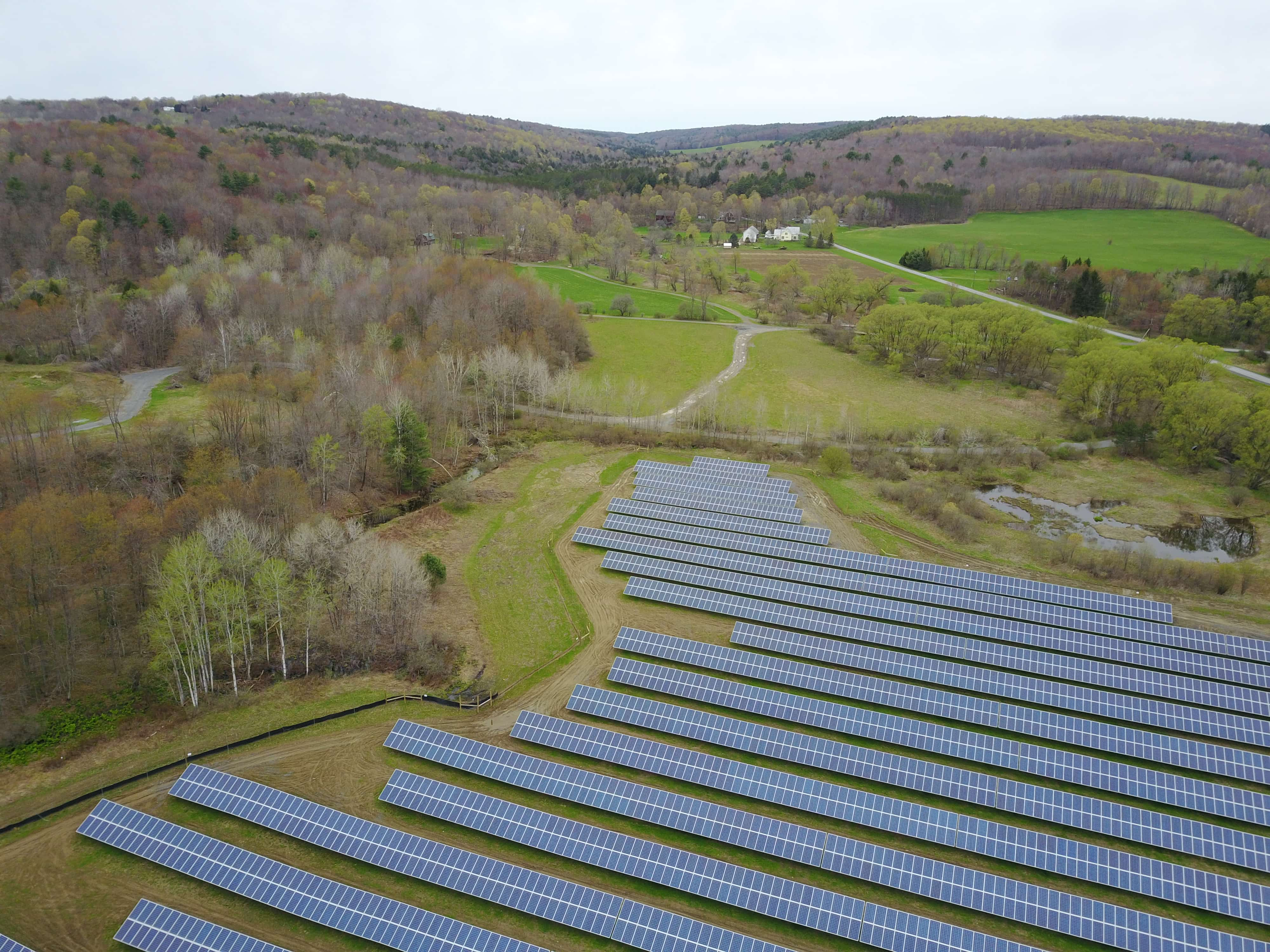 A New York Community Solar Farm