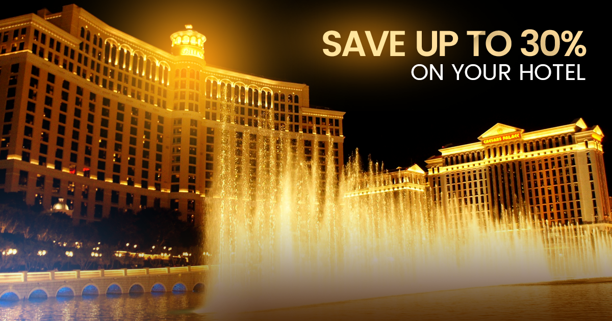 save on vegas hotels