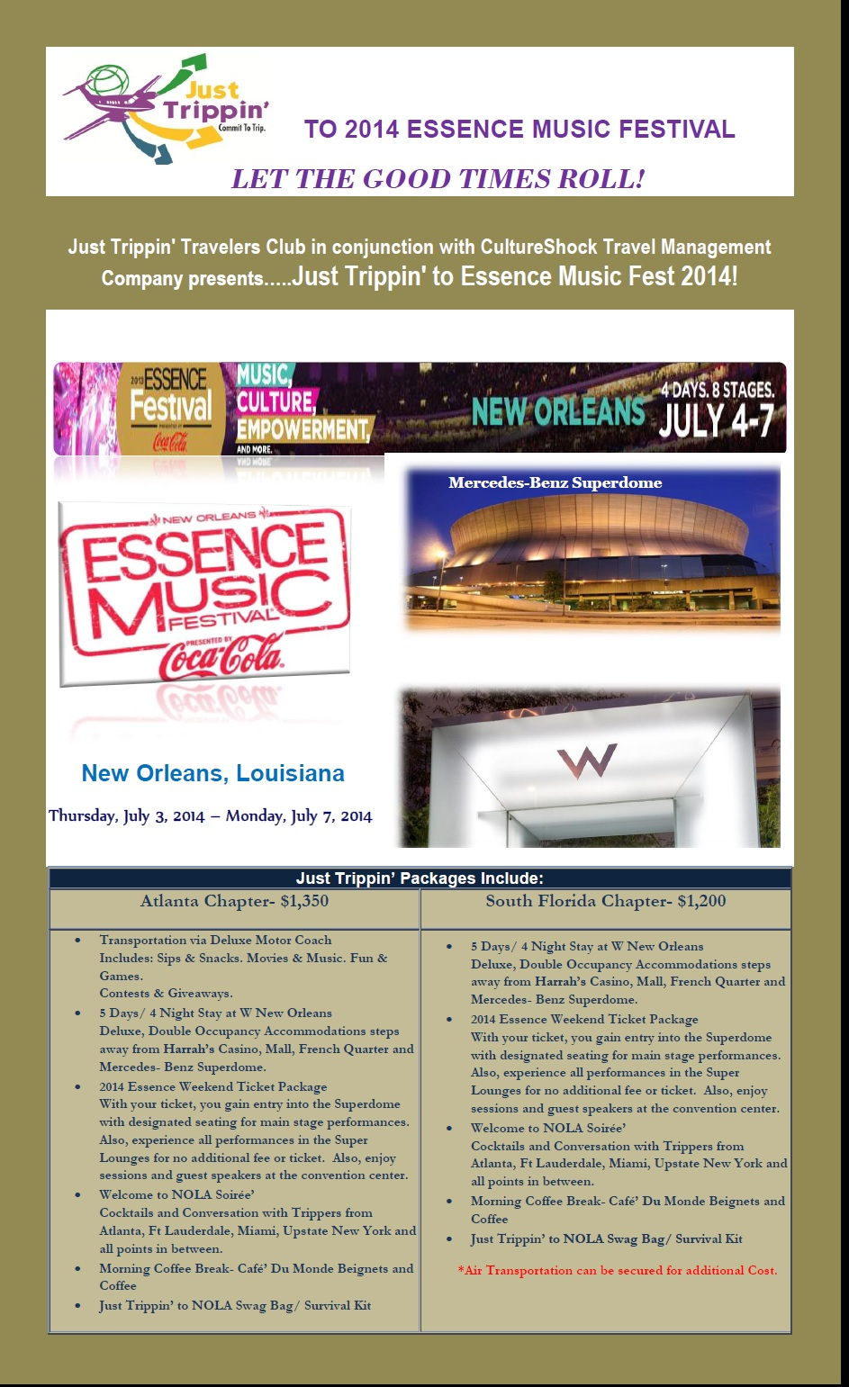 Essence Festival 2014 Announcement and Details
