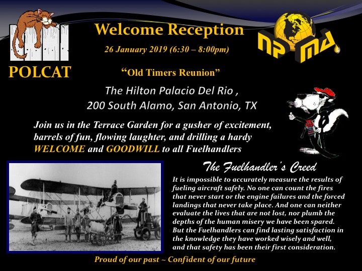 Networking Reception and POLCAT Reunion