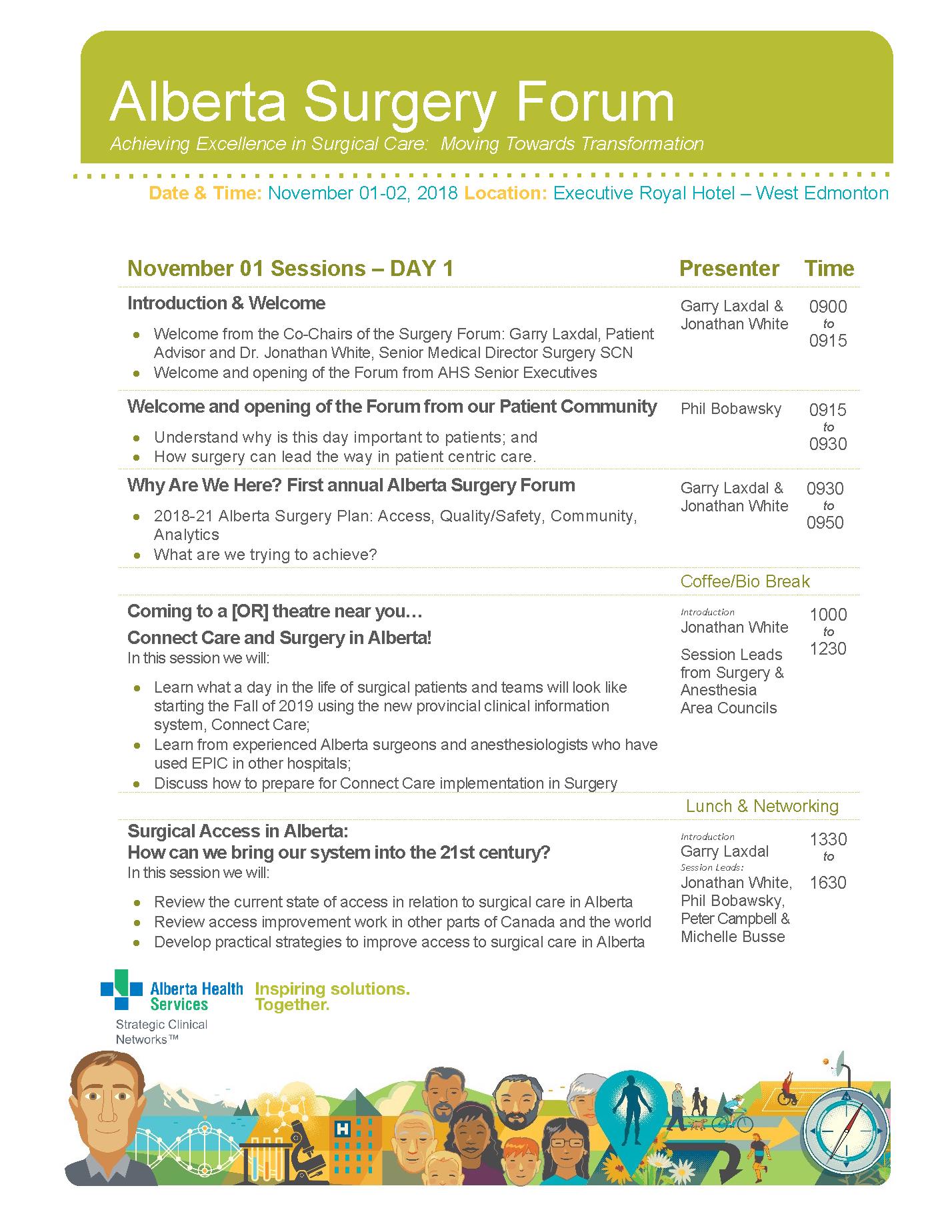 Agenda page 1