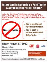 Become a paid tester and advocate for civil rights!