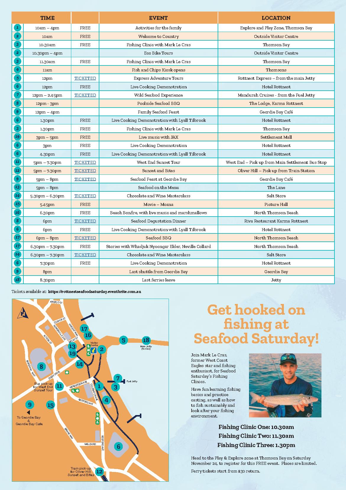 Seafood Saturday Program