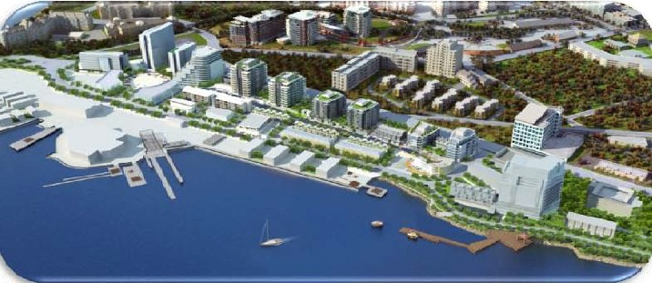 Dockside Neighbourhood concept drawing
