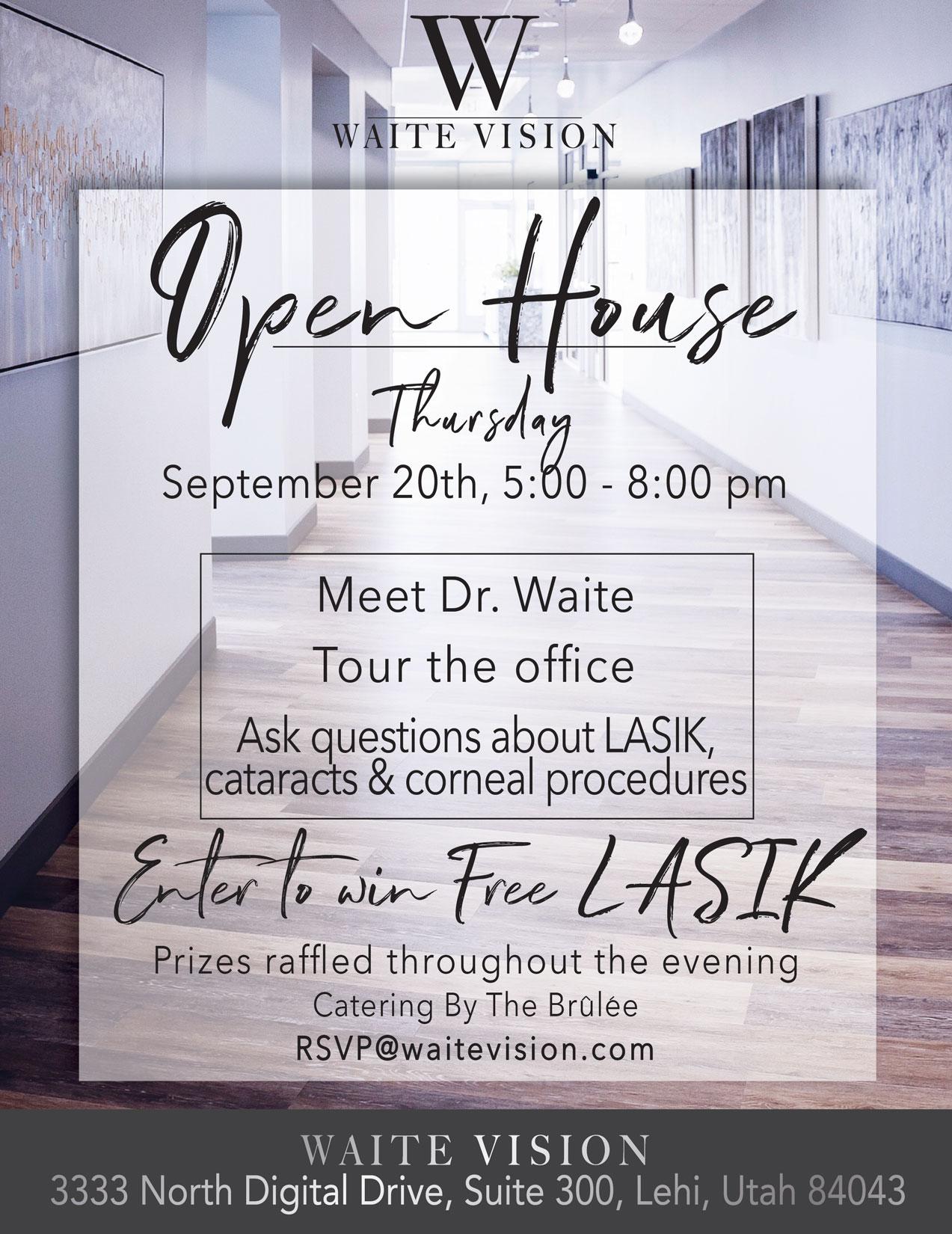 Waite Vision Open House
