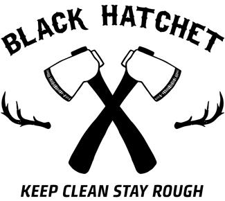 Black Hatchet Logo