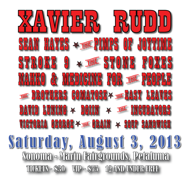 Petaluma Music Festival Lineup