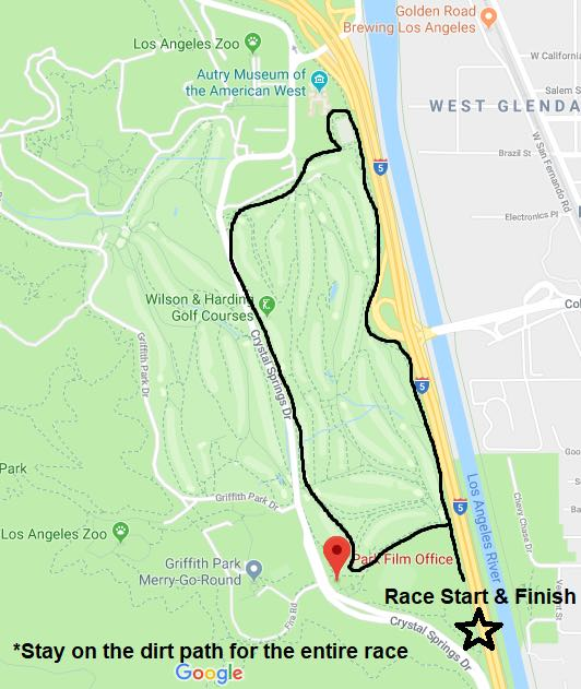 Trot course map