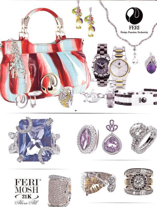Some Samples of FERI Jewelry and Accessories