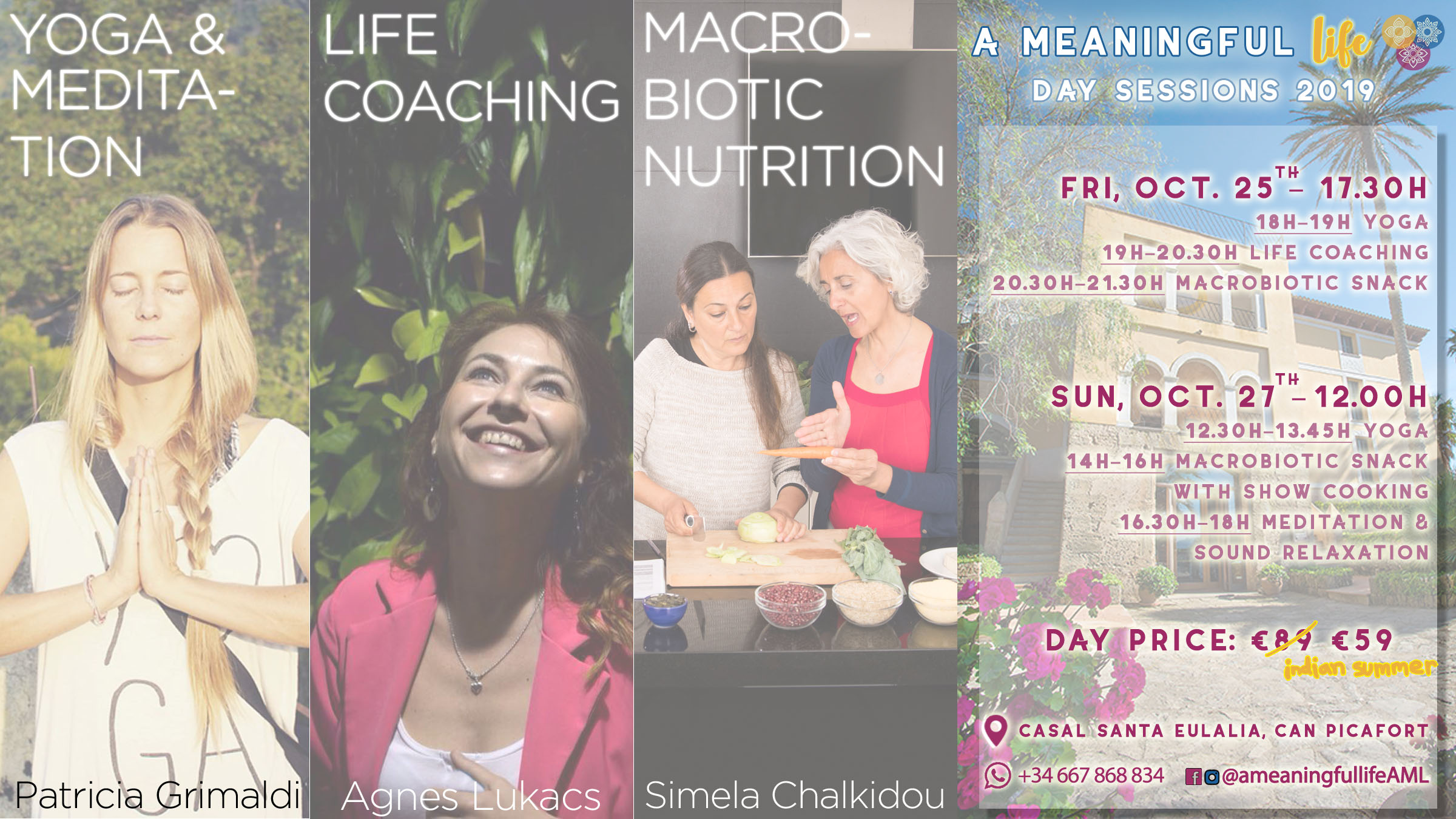 A Meaningful Life Day Sessions