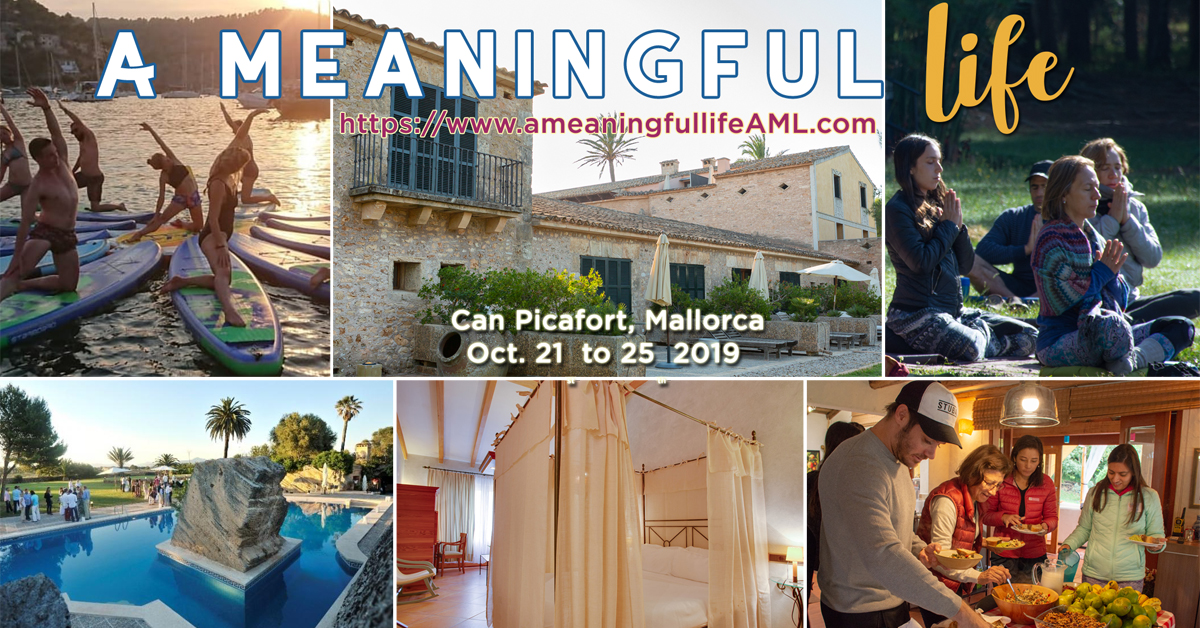 A Meaningful Life Mallorca 2019
