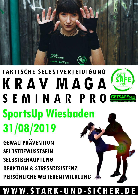 GETSAFEpro Krav Maga Selbstverteidigung Fitness Training