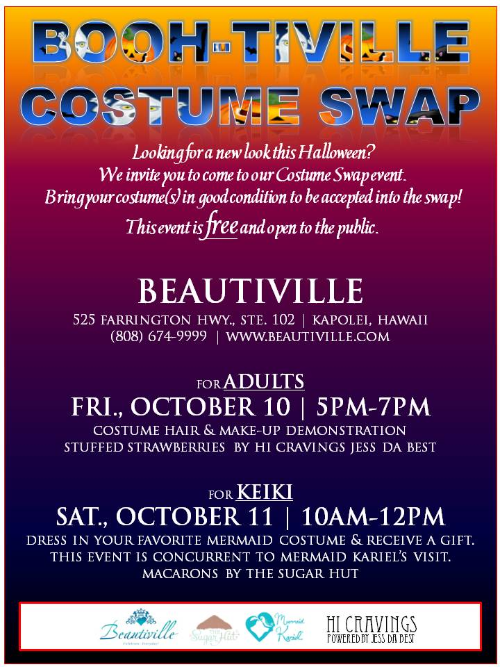 Booh-tiville Costume Swap