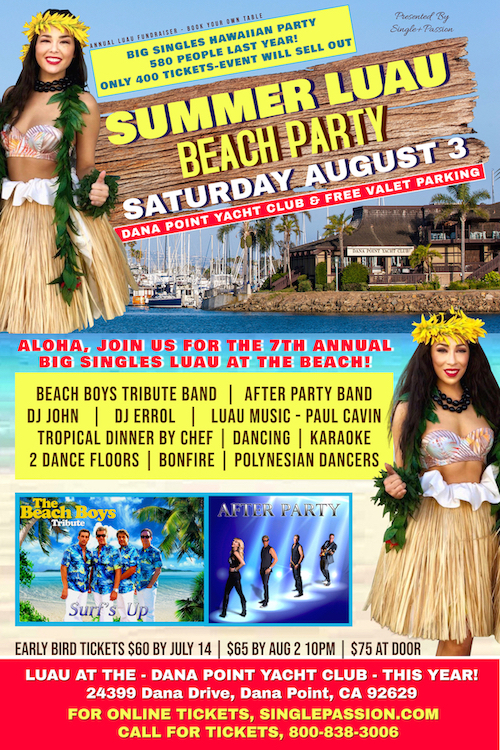 Summer Luau Beach Party