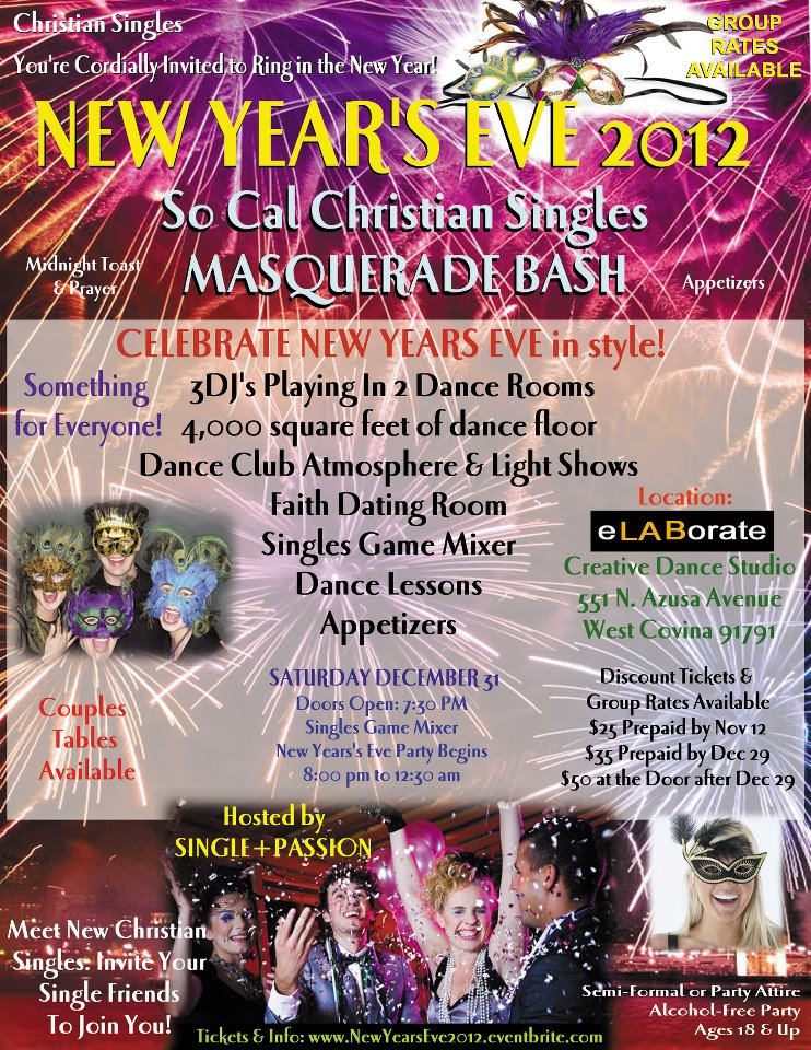 New Year's Eve Masquerade Dance Party 2011