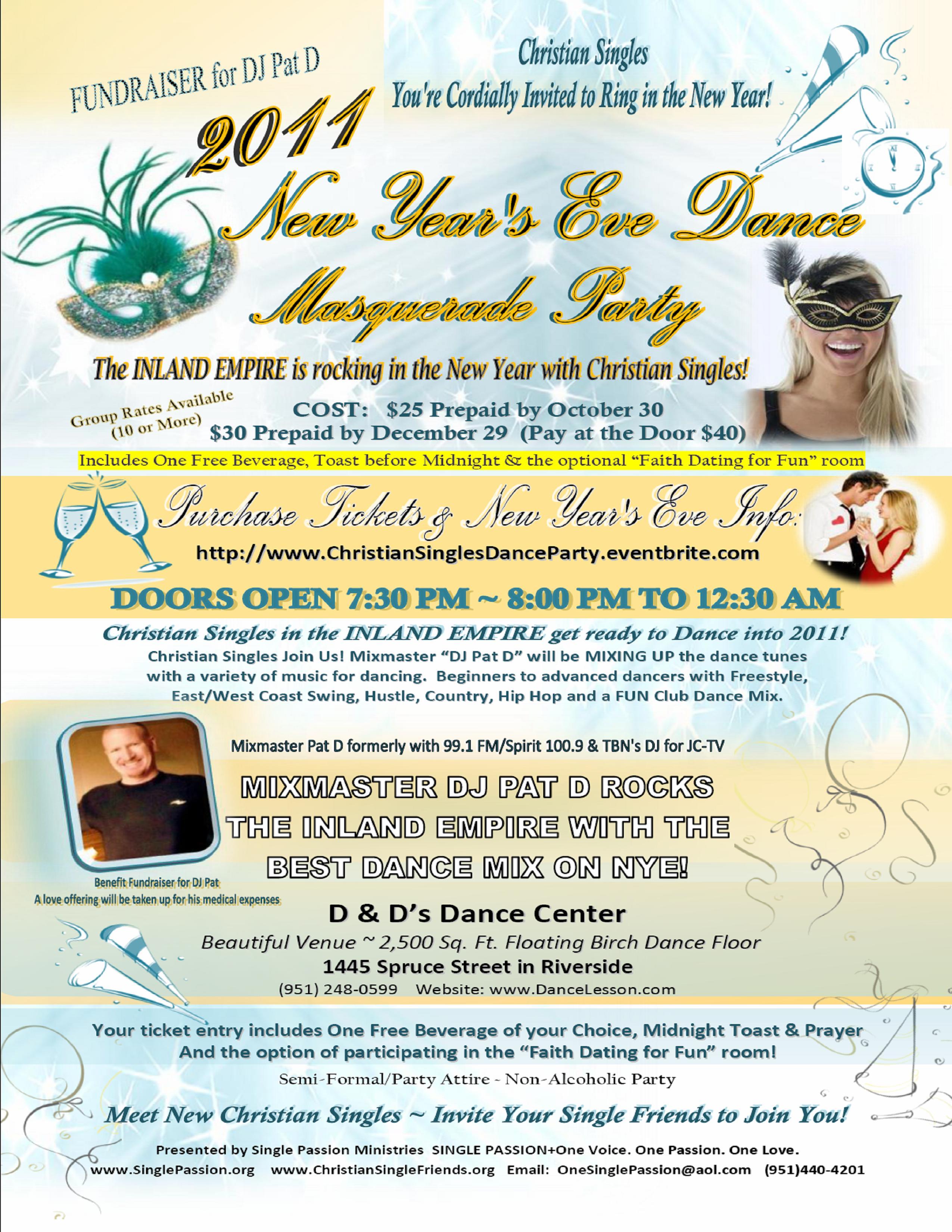 New Year's Eve Singles Dance