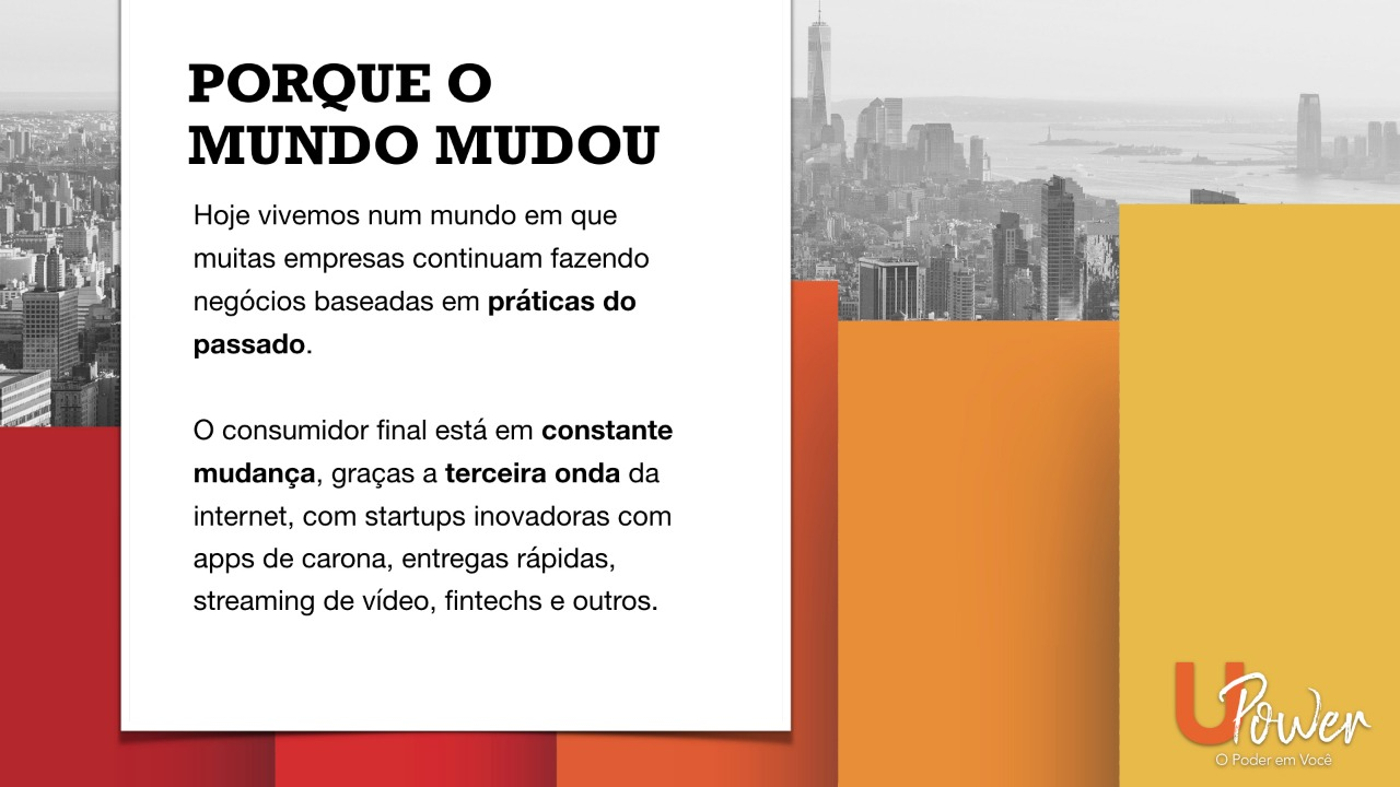 O MUNDO MUDOU