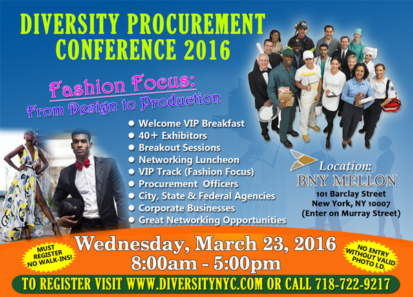 Diversity Procurement Conference - Fashion Focus: From Design to Production