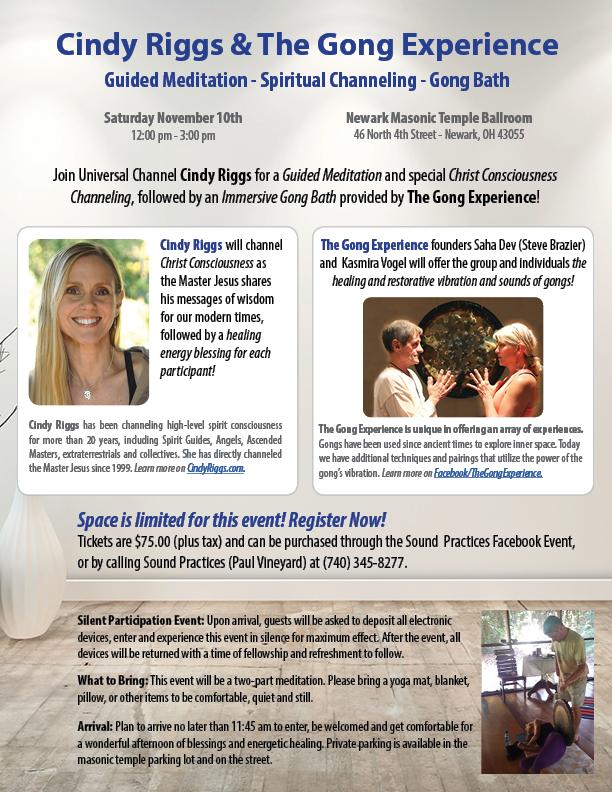 Guided Meditation - Spiritual Channeling - Gong Bath