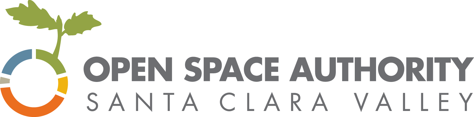 OSA logo - Open Space Authority with circle and leaf