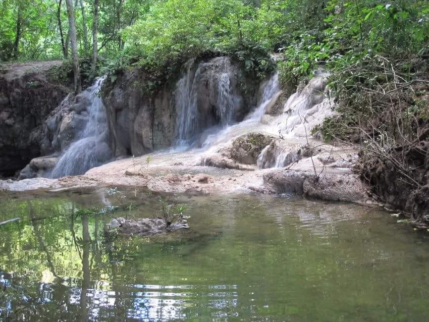 Waterfall at the Chai Garden Ashram