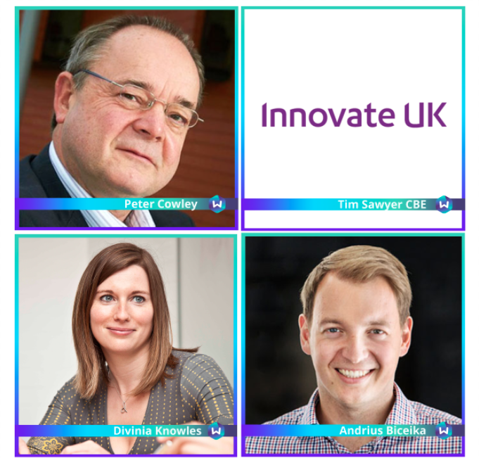 Innovate UK, Business Angel Network, Revolut, Davinia Knowles