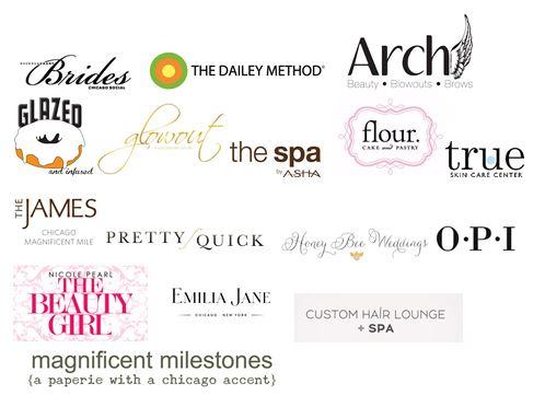 Bridal Beauty Event logos